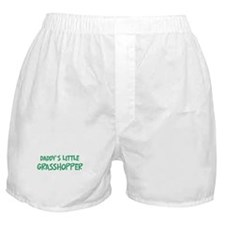 Daddys little Grasshopper Boxer Shorts