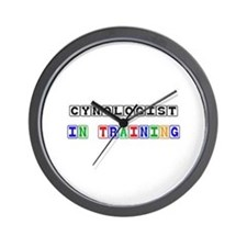 Cynologist In Training Wall Clock