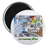 Sustainable Hero Comic Magnet