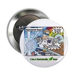 "Sustainable Hero Comic 2.25"" Button"