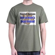 Finnish Spitzen man's best friend T-Shirt