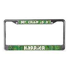 My Kid Harrier License Plate Frame
