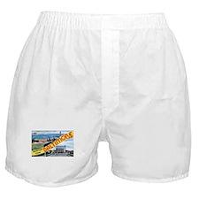 Baltimore Maryland Greetings Boxer Shorts