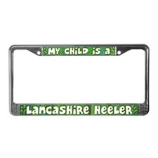 My Kid Lancashire Heeler License Plate Frame