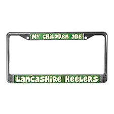 My Children Lancashire Heeler License Plate Frame