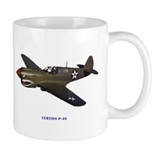 Curtiss P-40 Mug