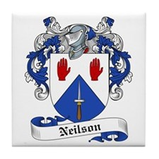 Neilson Family Crest Tile Coaster