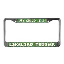 My Kid Lakeland Terrier License Plate Frame