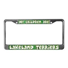 My Children Lakeland Terrier License Plate Frame