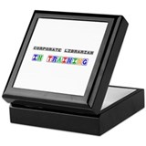 Corporate Librarian In Training Keepsake Box