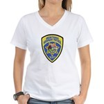 Montana Highway Patrol Women's V-Neck T-Shirt