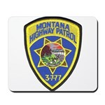 Montana Highway Patrol Mousepad