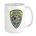 Montana Highway Patrol Large Mug