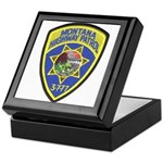Montana Highway Patrol Keepsake Box
