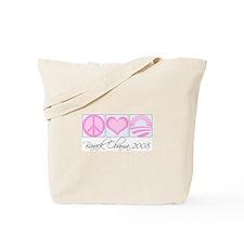Cute Pink obama Tote Bag