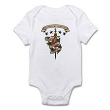 Love Veterinary Medicine Infant Bodysuit