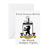 Field Station Berlin Greeting Card