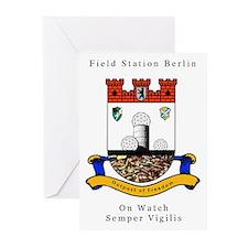 Field Station Berlin Folded Cards (Pk of 10)