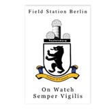 Field Station Berlin Postcards (Pk of 8)