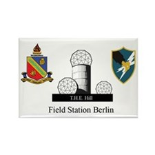 Field Station Berlin (ASA/DLIWC) Fridge Magnet: 10