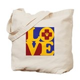 Veterinary Medicine Love Tote Bag
