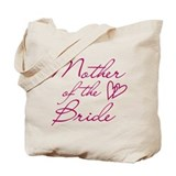 Hearts Mother of the Bride Tote Bag