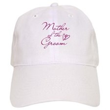 Hearts Mother of the Groom Baseball Cap