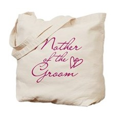 Hearts Mother of the Groom Tote Bag