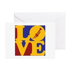 Trumpet Love Greeting Cards (Pk of 20)
