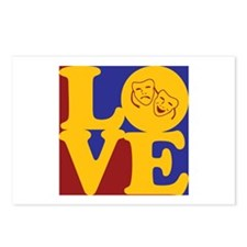 Theater Love Postcards (Package of 8)