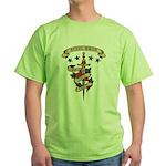 Love Steel Drum Green T-Shirt