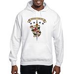 Love Steel Drum Hooded Sweatshirt
