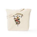 Love Steel Drum Tote Bag