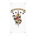 Love Steel Drum Banner