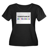 Constable In Training Women's Plus Size Scoop Neck