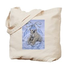 Polar Bears Tote Bag