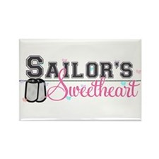Sailor's Sweetheart Rectangle Magnet