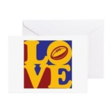 Rugby Love Greeting Cards (Pk of 20)