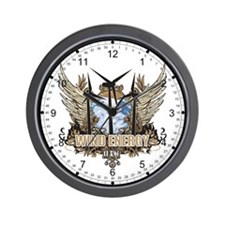 Utah Wind Energy Wall Clock