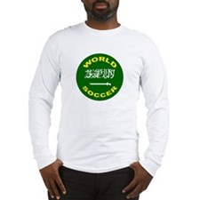 Saudi Arabia World Cup Soccer Long Sleeve T-Shirt