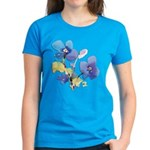 Watercolor Flowers Women's Dark T-Shirt