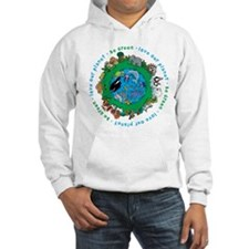 Be Green Love our planet Hoodie