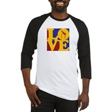 Pole Vaulting Love Baseball Jersey