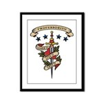Love Professoring Framed Panel Print