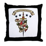 Love Professoring Throw Pillow