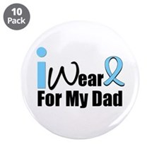 "Prostate Cancer 3.5"" Button (10 pack)"