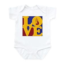 Pediatrics Love Infant Bodysuit