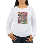 Parade of Nations Women's Long Sleeve T-Shirt