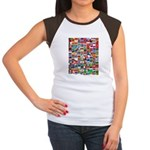 Parade of Nations Women's Cap Sleeve T-Shirt