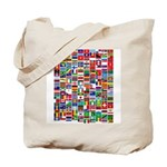 Parade of Nations Tote Bag